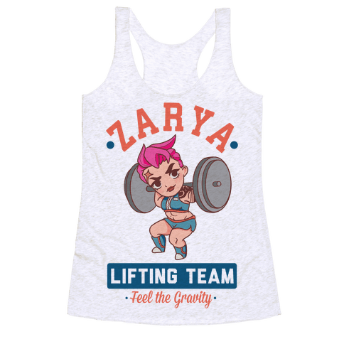 Zarya Lifting Team Racerback Tank Top