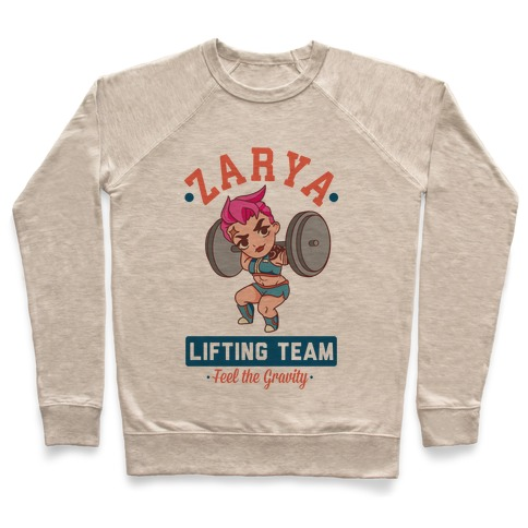 Zarya Lifting Team Pullover
