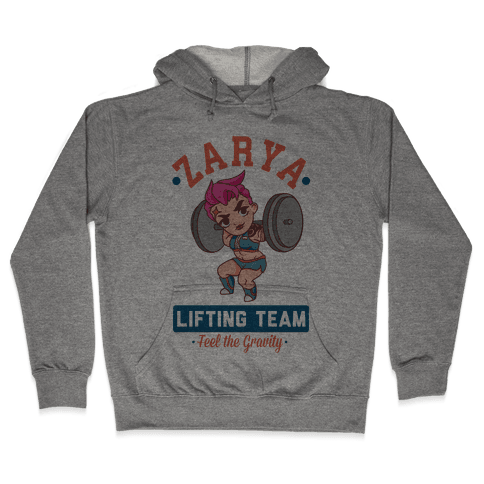 Zarya Lifting Team Hooded Sweatshirt