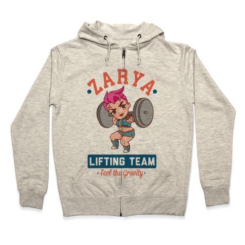 Zarya Lifting Team Zip Hoodie