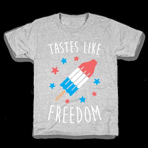 Tastes Like Freedom Kids T-Shirt