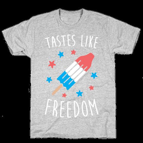 Tastes Like Freedom Mens T-Shirt