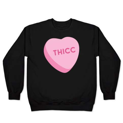 Thicc Candy Heart Pullover