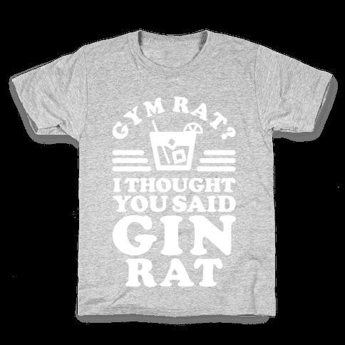 Gin Rat Kids T-Shirt