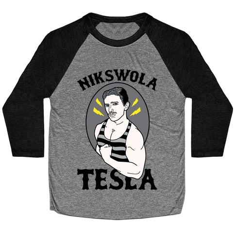 Nikswola Tesla Baseball Tee