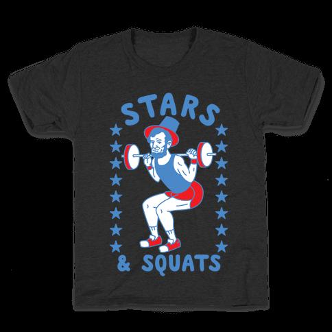 Stars and Squats Kids T-Shirt