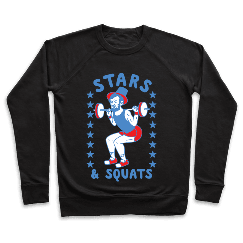 Stars and Squats Pullover