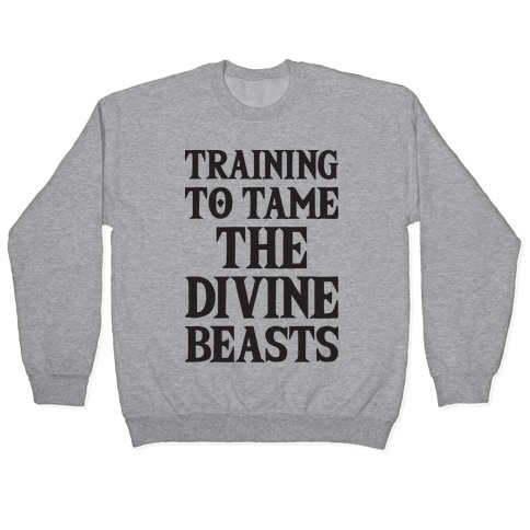 Training To Tame The Divine Beasts Pullover