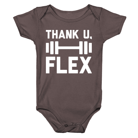 thank u, flex Baby One-Piece