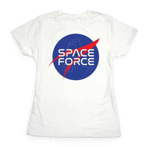 Space Force Parody Womens T-Shirt