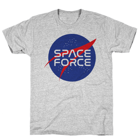 Space Force Parody Mens/Unisex T-Shirt