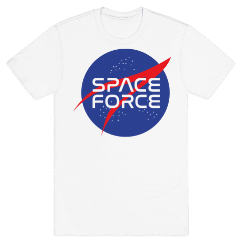 Space Force Parody Mens T-Shirt