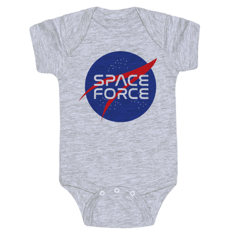 Space Force Parody Baby Onesy