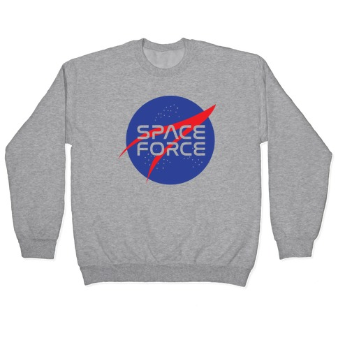 Space Force Parody Pullover