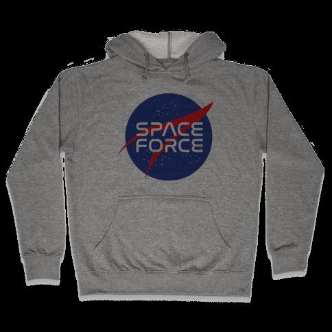 Space Force Parody Hooded Sweatshirt