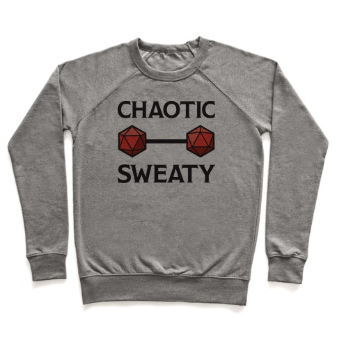 Chaotic Sweaty Pullover