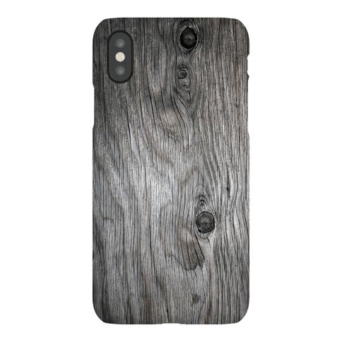 Wood Grain iPhone Case Phone Case