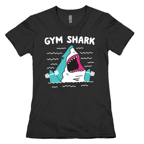 Gym Shark Womens T-Shirt