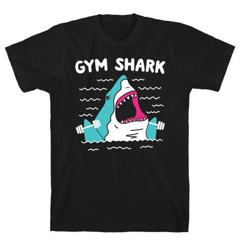 Gym Shark Mens/Unisex T-Shirt