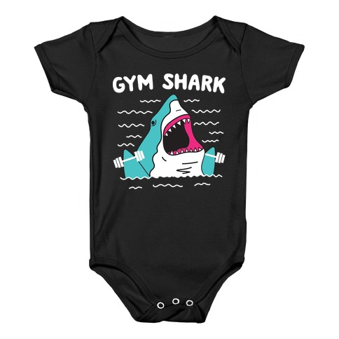 Gym Shark Baby Onesy
