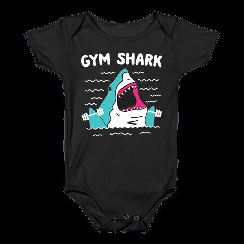 Gym Shark Baby Onesy