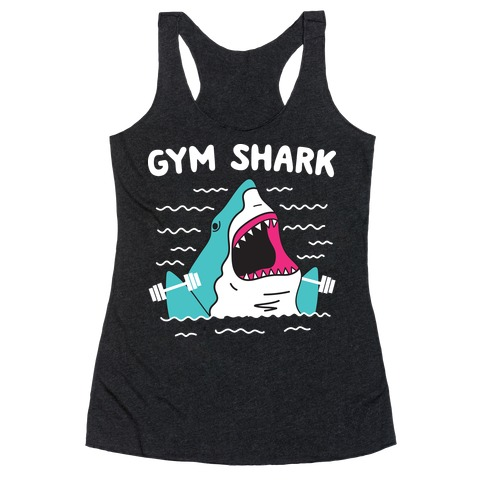 Gym Shark Racerback Tank Top