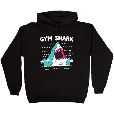 Gym Shark Hooded Sweatshirt