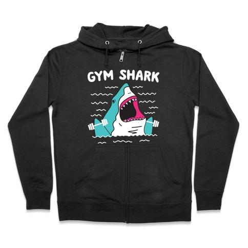 Gym Shark Zip Hoodie