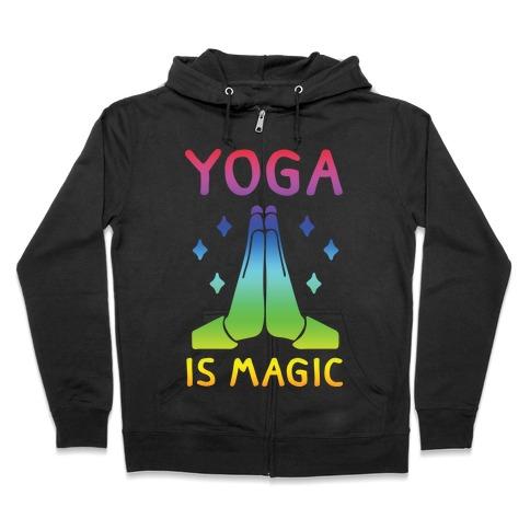 Yoga Is Magic Zip Hoodie