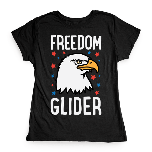 Freedom Glider Womens T-Shirt