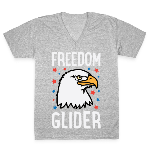 Freedom Glider V-Neck Tee Shirt