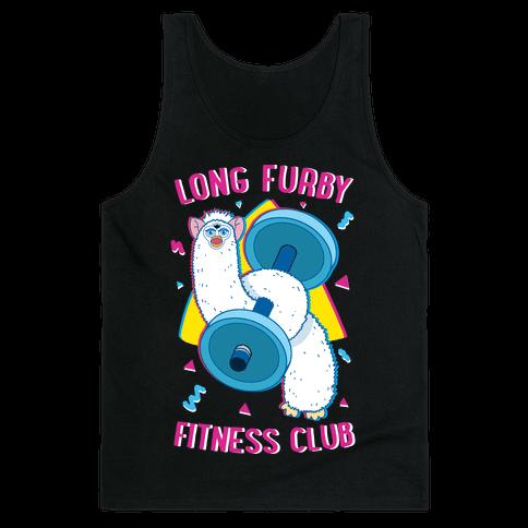 Long Furby Fitness Club Tank Top