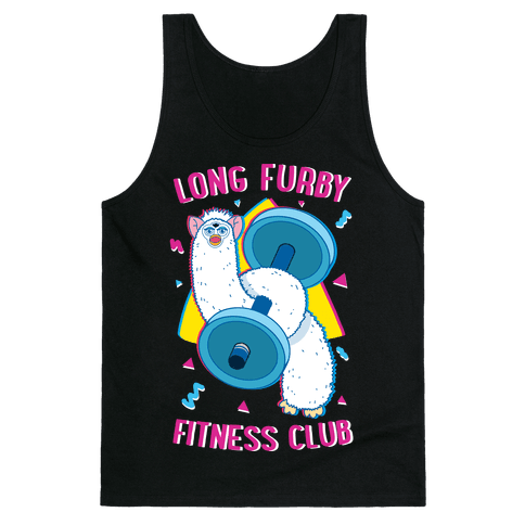 Long Furby Fitness Club Tank Top