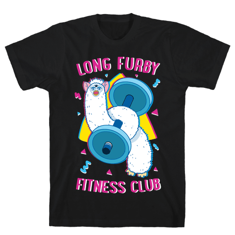 Long Furby Fitness Club Mens/Unisex T-Shirt