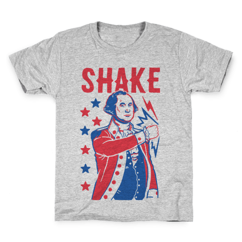 Shake & Bake: George Washington Kids T-Shirt