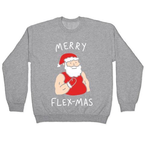 Merry Flex-mas Pullover