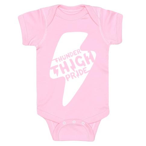 Thunder Thigh Pride Baby Onesy
