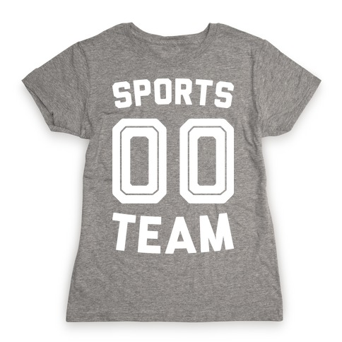 Sports 00 Team (White) Womens T-Shirt