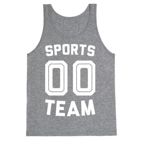 Sports 00 Team (White) Tank Top
