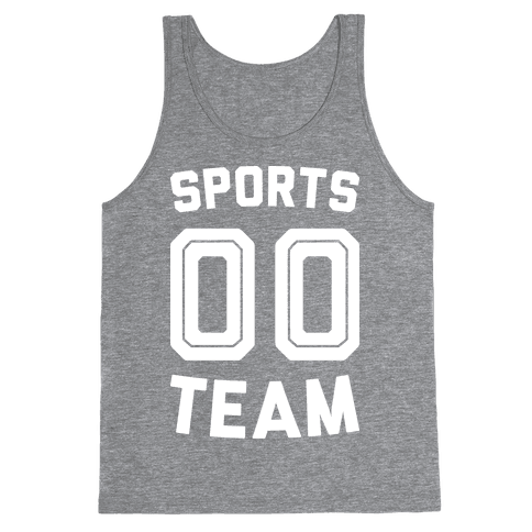 Sports 00 Team (White) Tank Top
