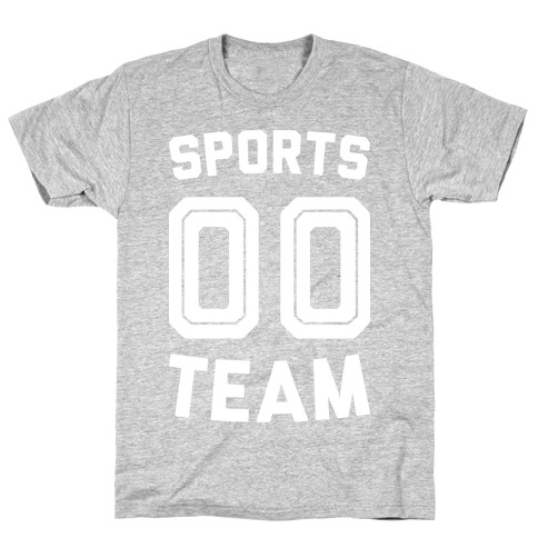 Sports 00 Team (White) T-Shirt