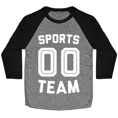 Sports 00 Team (White) Baseball Tee