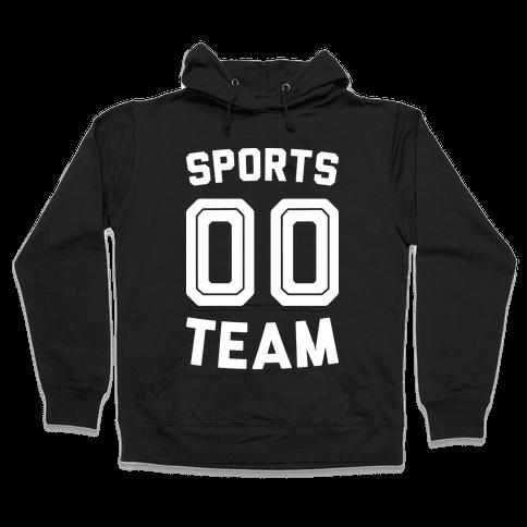 Sports 00 Team (White) Hooded Sweatshirt