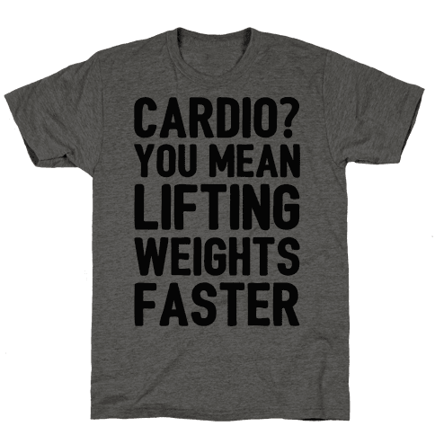 Cardio You Mean Lifting Weights Faster