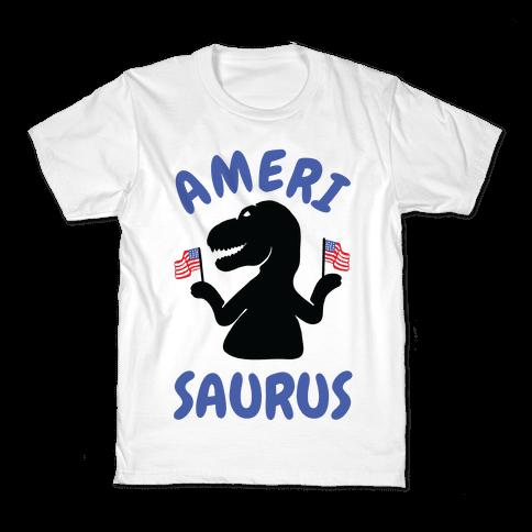 Amerisaurus Kids T-Shirt