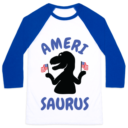 Amerisaurus Baseball Tee