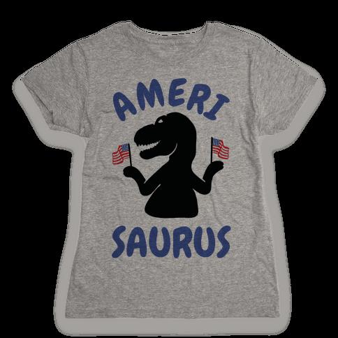 Amerisaurus Womens T-Shirt