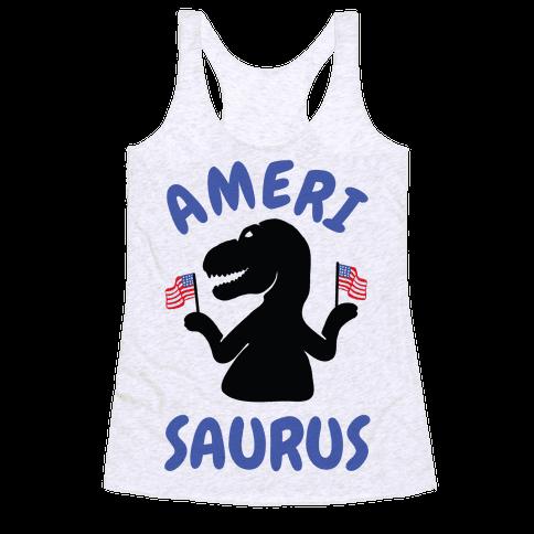 Amerisaurus Racerback Tank Top