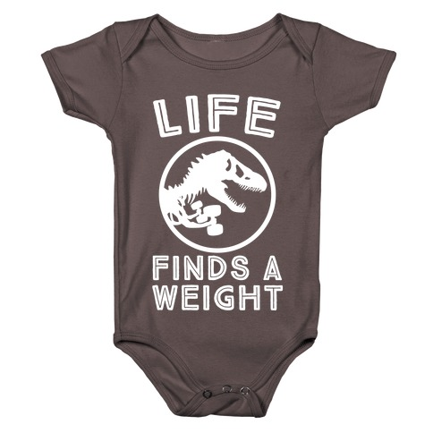 Life Finds a Weight Baby One-Piece
