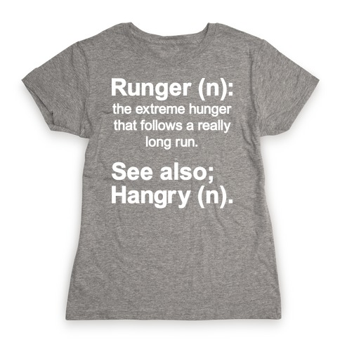 Runger Definition Womens T-Shirt
